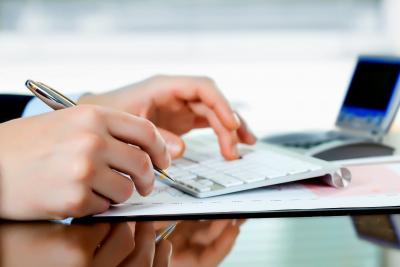 income tax services concept